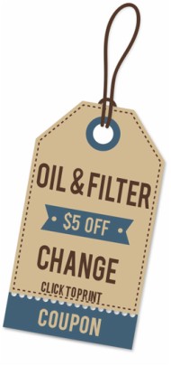 oil change coupon